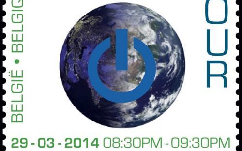 10 maart: Earth Hour (onder UV licht)