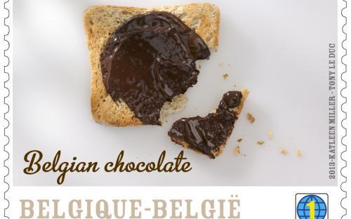 25 maart, Belgische Chocolade, zegel 4
