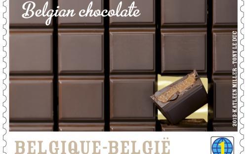 25 maart, Belgische Chocolade, zegel 5