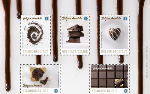 25 maart, Belgische Chocolade, volledig blaadje