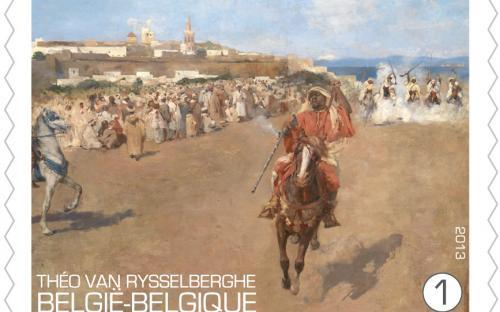 15 april: Théo Van Rysselberghe, zegel 4