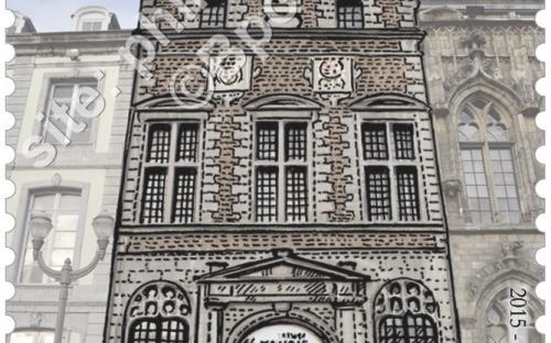 1 juni: De Grote Markt van Mons (Kapel van St.Georges)