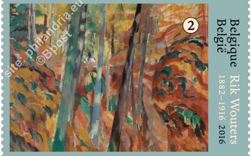 22 augustus: Rik Wouters ('Het ravijn' (1913))