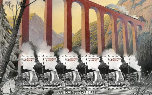 6 oktober: De wereld van de trein (vel)