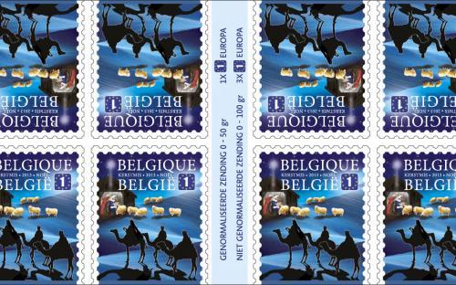 28 oktober: Kerstmis (Europa), postzegelboekje