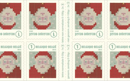 24 oktober: Kerstmis 2016 (postzegelboekje)