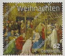 Oostenrijk: Kerstuitgifte 2014, vier postzegels